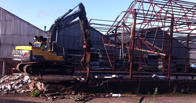 ADM Regeneration-Demolition of Structure After Contamination Removal