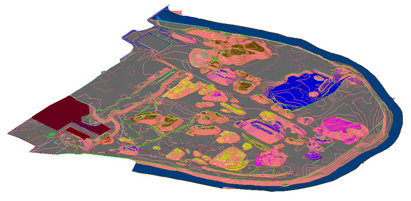 ADM Regeneration-Remediation Model of Dumers Lane Bury Topographical Survey