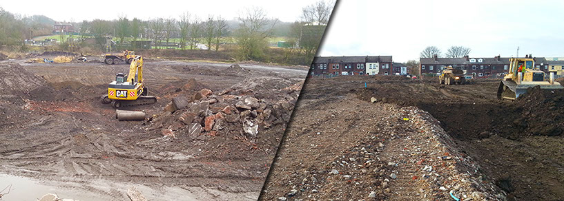 ADM Regeneration-Remediation Site Bury Greater Manchester Excavation And Engineering