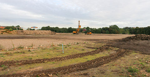 ADM Regeneration-Remediation Housing Development Client Handover For Piling