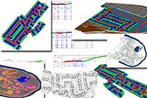 ADM Regeneration-Remediation Earthworks Cut Fill 3D Modelling