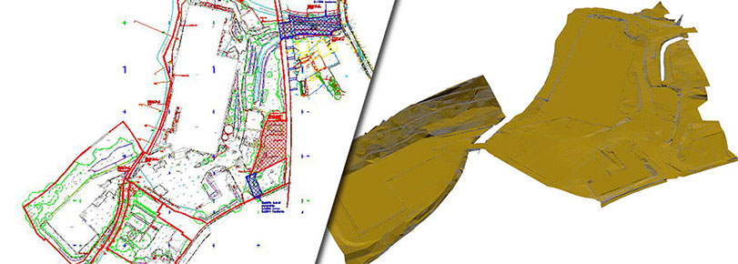 ADM Regeneration-Remediation Topographical Survey Conversion To 3D Model